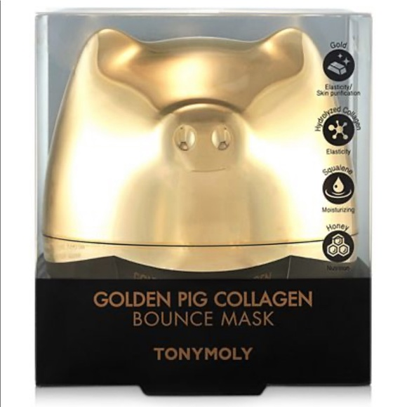 TONYMOLY Other - Golden Pig Collagen Bounce Mask